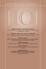 International Organization Volume 64 - Issue 4 -