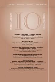 International Organization Volume 65 - Issue 4 -