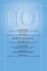International Organization Volume 67 - Issue 1 -