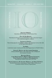 International Organization Volume 67 - Issue 2 -