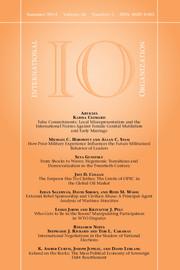 International Organization Volume 68 - Issue 3 -