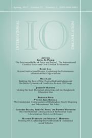 International Organization Volume 71 - Issue 2 -