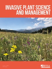 Invasive Plant Science and Management