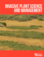 Invasive Plant Science and Management Volume 10 - Issue 2 -