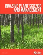 Invasive Plant Science and Management Volume 10 - Issue 4 -
