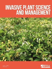 Invasive Plant Science and Management Volume 12 - Issue 2 -
