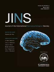 Journal of the International Neuropsychological Society Volume 23 - Issue 3 -