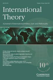 International Theory Volume 10 - Issue 2 -