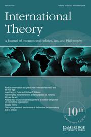 International Theory Volume 10 - Issue 3 -