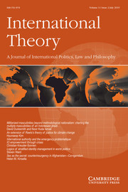 International Theory Volume 11 - Issue 2 -