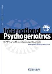 International Psychogeriatrics Volume 18 - Issue 2 -