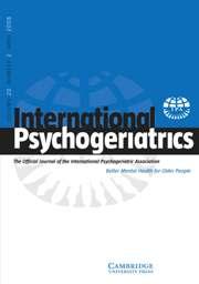 International Psychogeriatrics Volume 20 - Issue 2 -