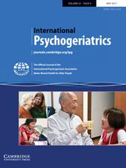International Psychogeriatrics Volume 23 - Issue 4 -