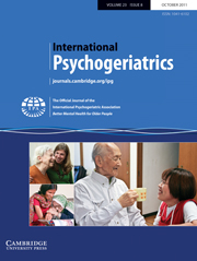 International Psychogeriatrics Volume 23 - Issue 8 -