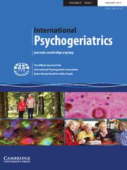 International Psychogeriatrics Volume 27 - Issue 1 -