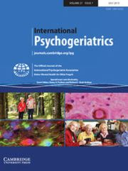 International Psychogeriatrics Volume 27 - Special Issue7 -  Late Life Anxiety