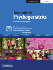 International Psychogeriatrics Volume 30 - Issue 4 -  Issue Theme: Delirium