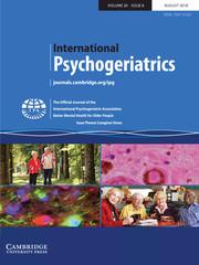 International Psychogeriatrics Volume 30 - Issue 8 -  Issue Theme: Caregiver Stress