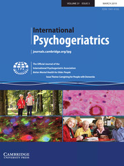International Psychogeriatrics Volume 31 - Issue 3 -  Issue Theme: Caregiving for People with Dementia