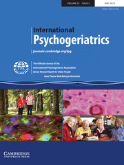 International Psychogeriatrics Volume 31 - Issue 5 -  Issue Theme: Well-Being in Dementia