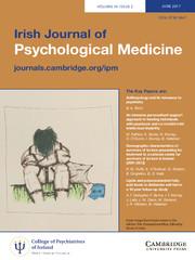 Irish Journal of Psychological Medicine Volume 34 - Issue 2 -
