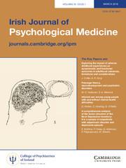 Irish Journal of Psychological Medicine Volume 35 - Issue 1 -