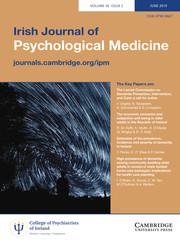 Irish Journal of Psychological Medicine Volume 36 - Issue 2 -