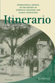 Itinerario Volume 34 - Issue 2 -