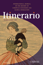 Itinerario Volume 35 - Issue 1 -
