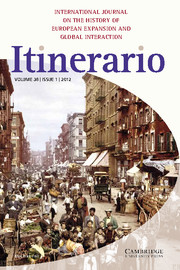 Itinerario Volume 36 - Issue 1 -