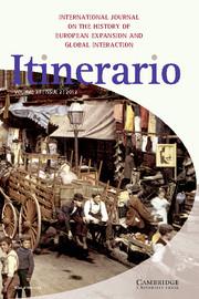 Itinerario Volume 36 - Issue 2 -