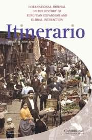 Itinerario Volume 36 - Issue 3 -