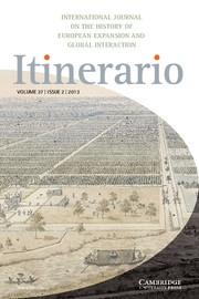 Itinerario Volume 37 - Issue 2 -