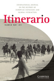 Itinerario Volume 38 - Issue 1 -