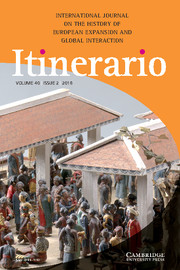 Itinerario Volume 40 - Special Issue2 -  Spiritual Geopolitics in the Early Modern World