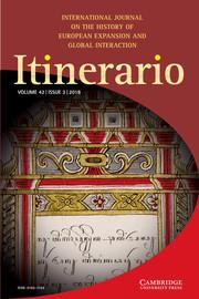 Itinerario Volume 42 - Issue 3 -