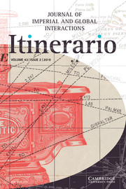 Itinerario Volume 43 - Special Issue2 -  Colonial Entanglements: Crossroads, Contact Zones and Flows in Scandinavian Global History