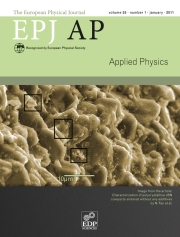 The European Physical Journal - Applied Physics Volume 53 - Issue 1 -
