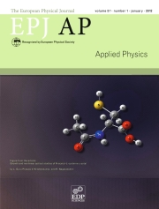 The European Physical Journal - Applied Physics Volume 57 - Issue 1 -