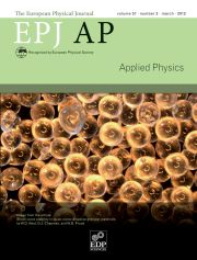 The European Physical Journal - Applied Physics Volume 57 - Issue 3 -