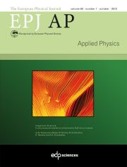 The European Physical Journal - Applied Physics Volume 60 - Issue 1 -