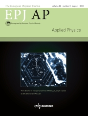 The European Physical Journal - Applied Physics Volume 63 - Issue 2 -