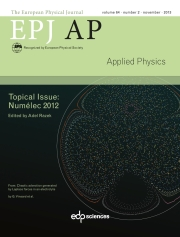 The European Physical Journal - Applied Physics Volume 64 - Issue 2 -