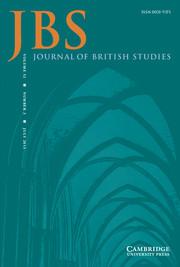 Journal of British Studies Volume 52 - Issue 3 -