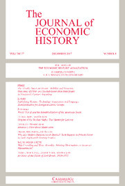 The Journal of Economic History Volume 77 - Issue 4 -