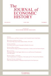 The Journal of Economic History Volume 80 - Issue 2 -
