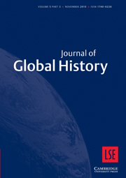 Journal of Global History Volume 5 - Issue 3 -