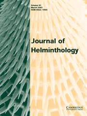 Journal of Helminthology Volume 81 - Issue 1 -