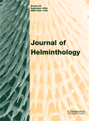 Journal of Helminthology Volume 82 - Issue 3 -