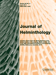 Journal of Helminthology Volume 85 - Issue 2 -